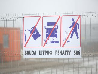 Lithuanian Belarus border