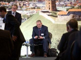 Mikhail Khodorkovsky in Vilnius