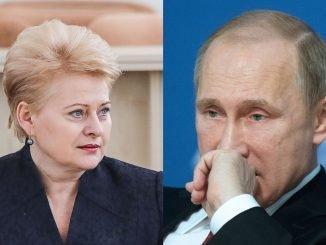 Dalia Grybauskaitė, Vladimir Putin