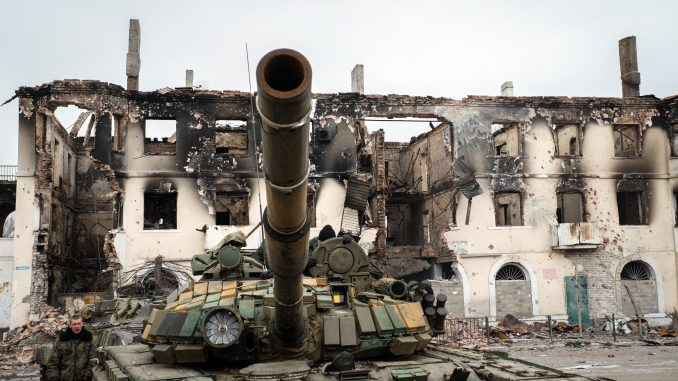 Pro-Russia separatists in east Ukraine