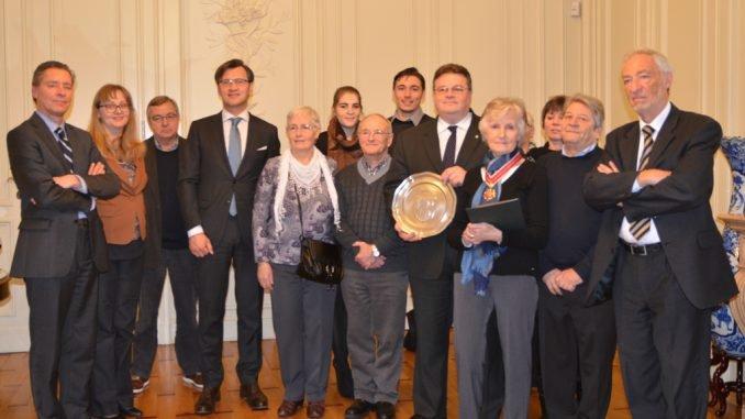 Francina Baeten Van den Brande awarded with Lithuania's Diplomacy Star
