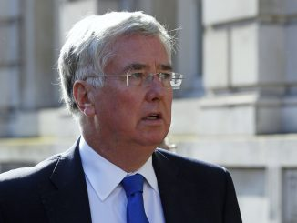 UK Defence Secretary Michael Fallon