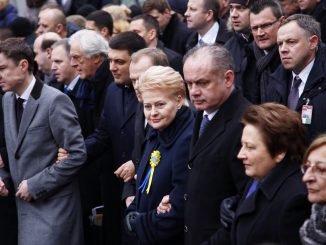 President Grybauskaitė in Euromaidan anniversary event