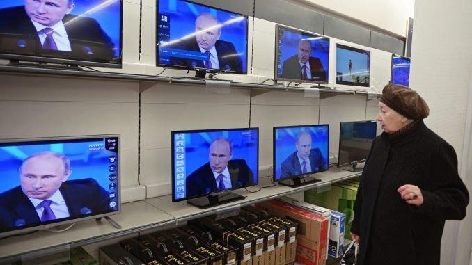 V. Putin on Russian television