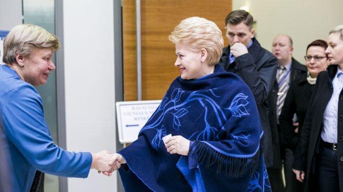 President Grybauskaitė