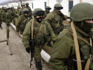 "Russian ""Green men"" in Crimea"