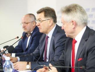 Juozas Olekas, Algirdas Butkevičius ir Algirdas Sysas