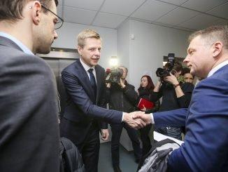 Remigijus Šimašius and Eligijus Masiulis