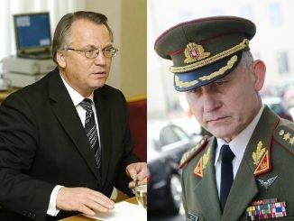 Mečys Laurinkus and Arvydas Pocius