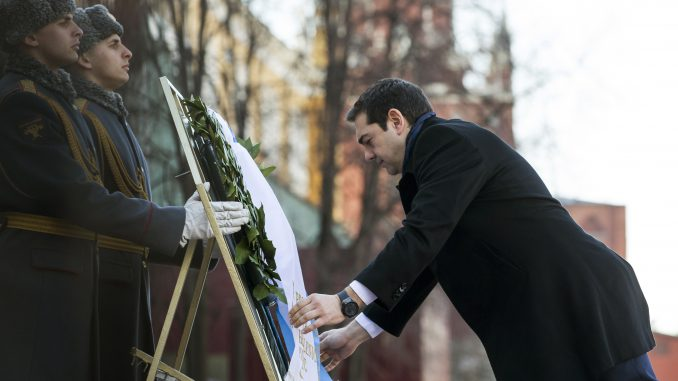 Alexis Tsipras in Moscow