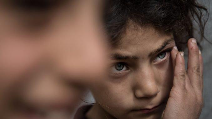 Syria, child refugee