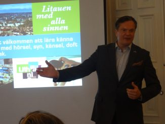 Lithuania presented at a tourism event in Stockholm
