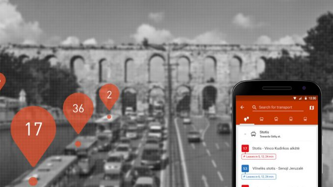 TRAFI app, smart city and transport management