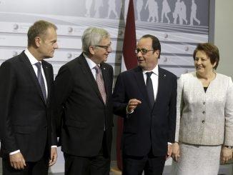 ES lyderių susitikimas