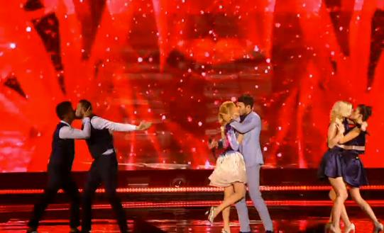 Vaidas Baumila and Monika Linkytė in Eurovision
