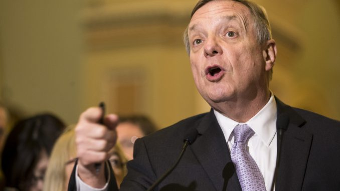 US Senator Richard Durbin