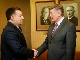 Stepan Poltorak and Artūras Paulauskas