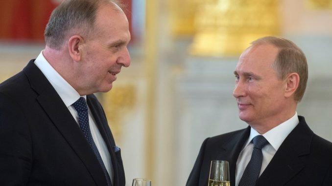 Remigijus Motuzas, Vladimir Putin