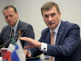 EU VP for the Digital Single Market, Andrus Ansip speaking in Washington, DC   Photo Ludo Segers