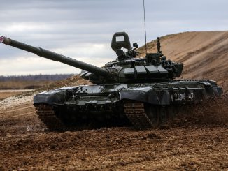 The Russian T-72 tank