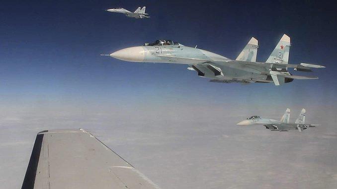 Russian Su-27 fighters