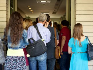 Queue at the migration office