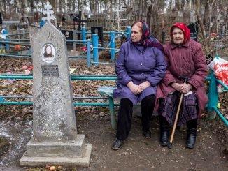 Rusija, kapinės