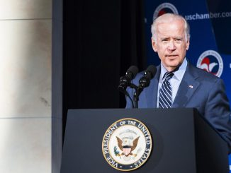 US Vice President Joe Biden  Photo Ludo Segers