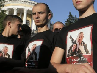 Right Sector rally in Kiev