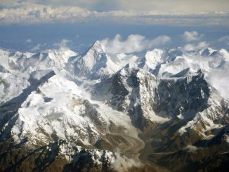 Tian Shan Mountains in Kyrgyzstan. Photo Wikimedia