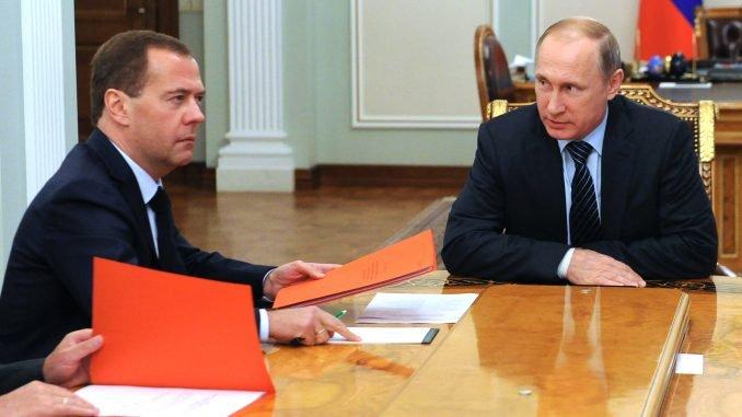 Dmitry Medvedev, Vladimir Putin