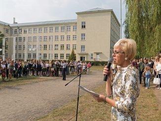 Žvėrynas Gymnasium  director Daiva Žiurienė.  Photo  Ludo Segers