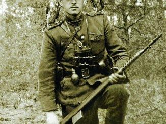 Adolfas Ramanauskas-Vanagas in 1947
