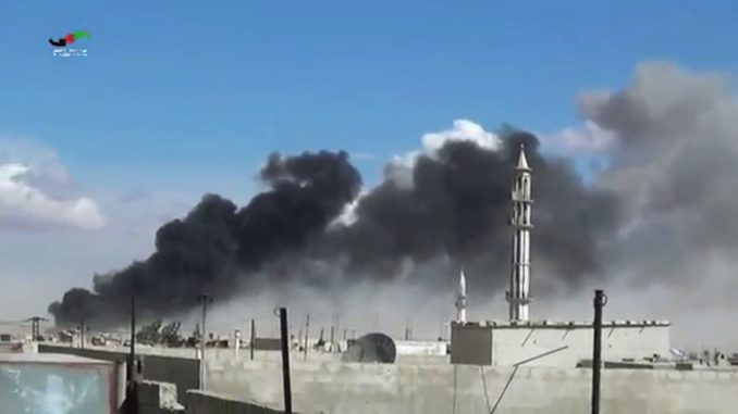 Russia's airstrikes in Syria
