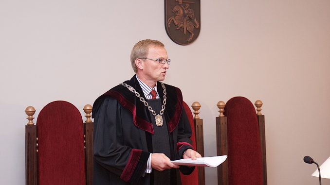 Judge Algimantas Valantinas