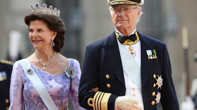 Carl XVI Gustav of Sweden and Queen Silvia