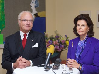 Sweden's royal couple