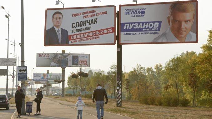 Local elections in Ukraine
