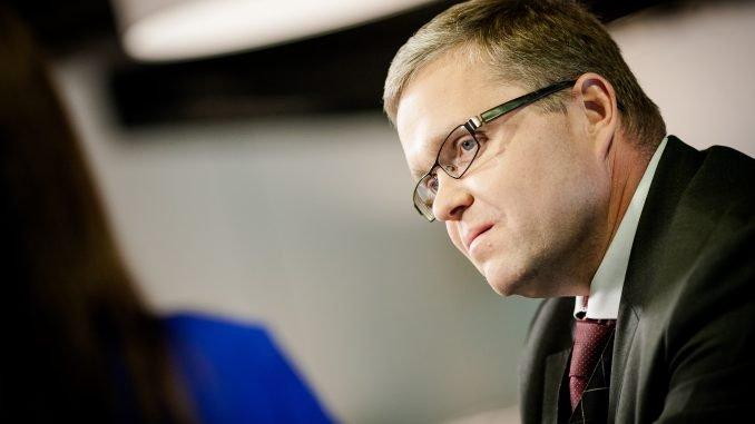 Central Bank head Vitas Vasiliauskas