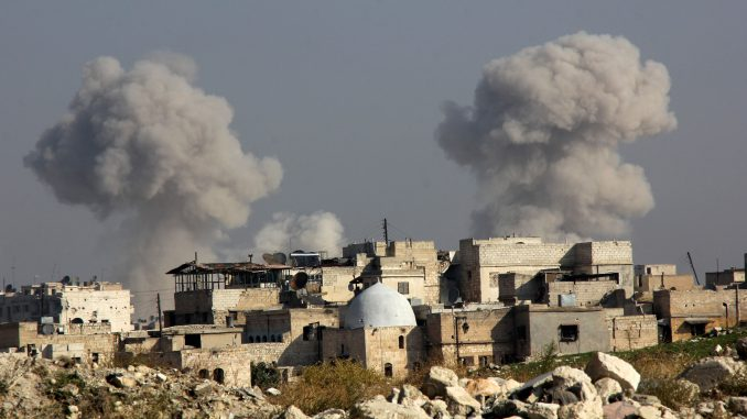 Syrian government is fighting opposition forces in Aleppo