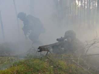 During the  during Iron Sword exercise in 2015