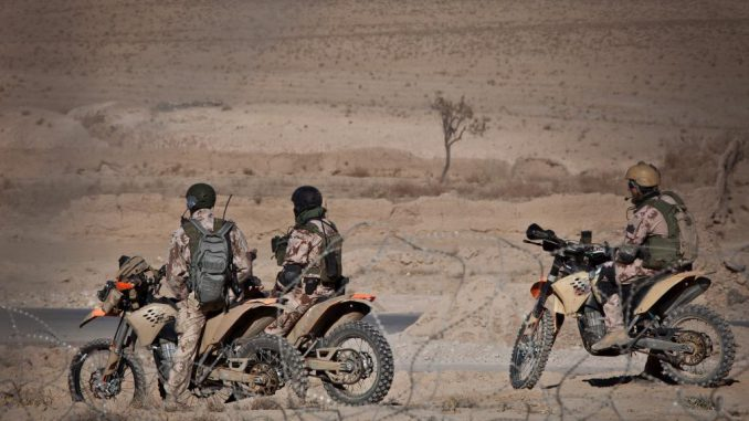 """Lithuanian SOF """"Aitvaras"""" in Afghanistan"""