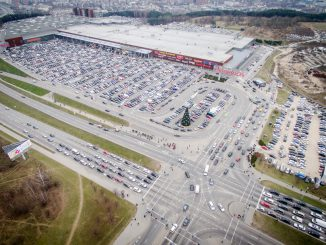 Akropolis shopping mall in Vilnius