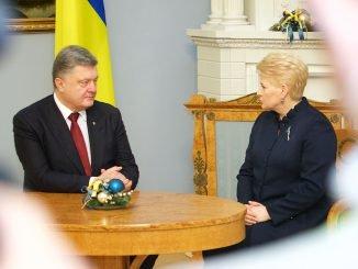 Petro Poroshenko, Dalia Grybauskaitė
