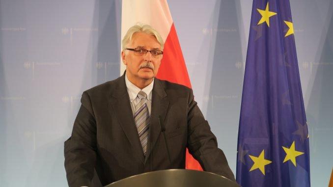 Witold Waszczykowski. Foto: MSZ RP