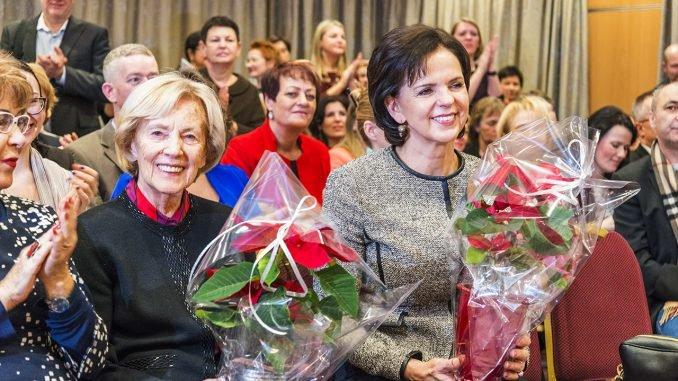 Ms. Alma Adamkienė and Ms  Janina Butkevičienė. Photo Ludo Segers