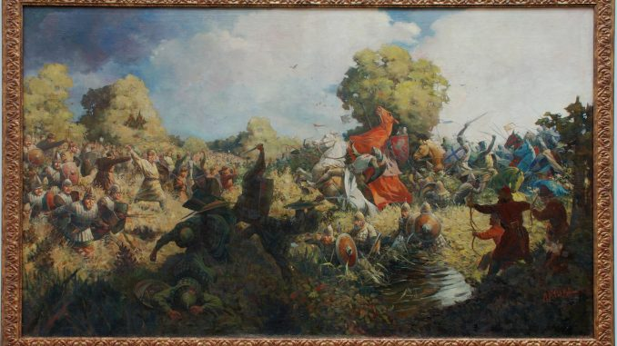 Battle of Saulė by A. Kriuka