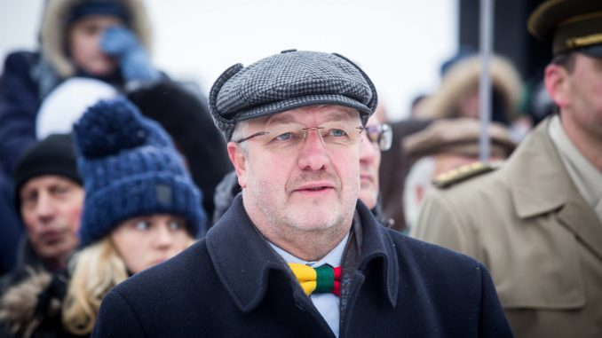 Minister of National Defence Juozas Olekas