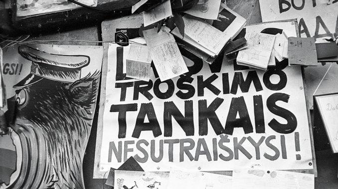 January 1991. Photo Alfredas Girdziušas