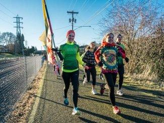Lithuanian runners in Portland, Oregon